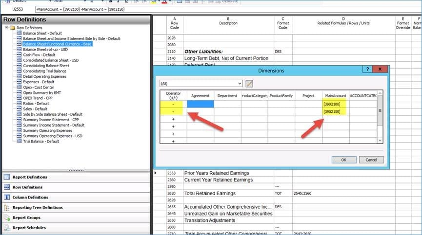 Retained Earnings Translation with Management Reporter