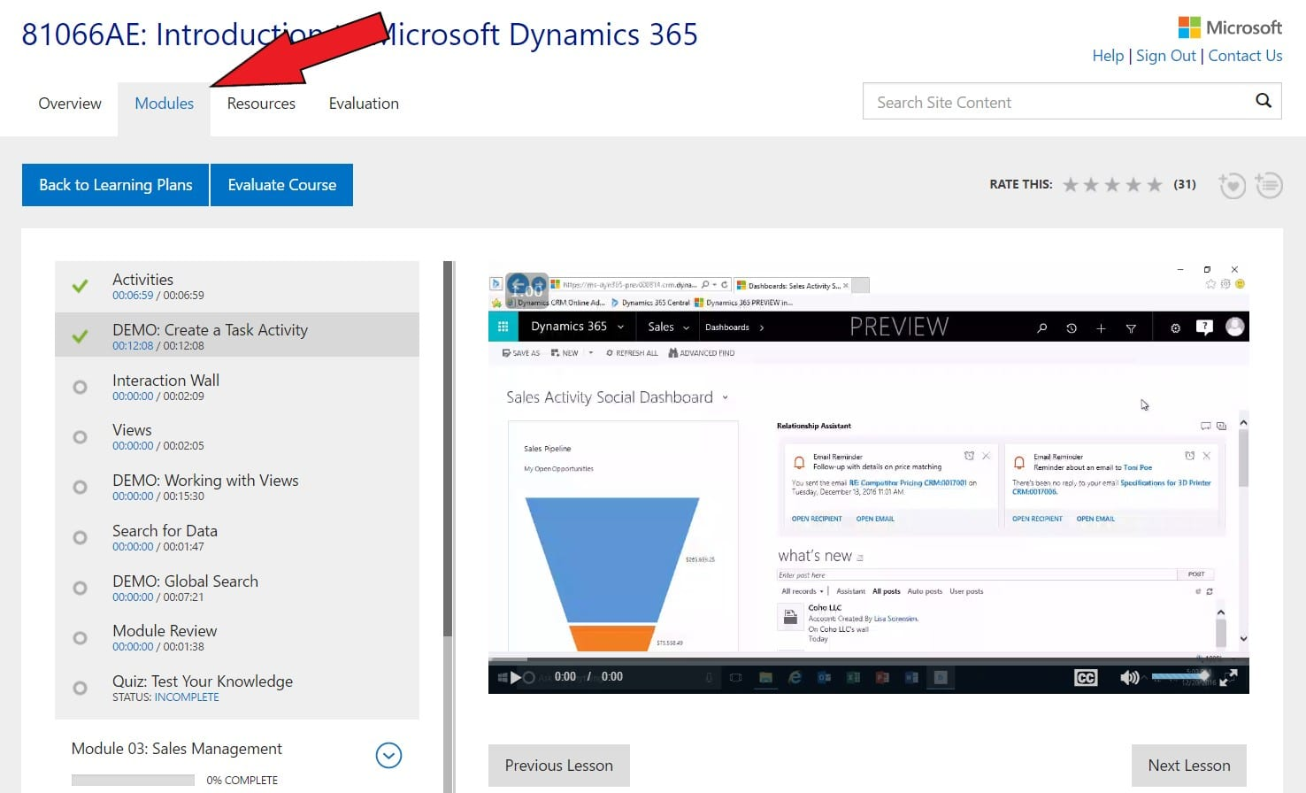 Microsoft Learning Portal - Training on my terms! – Dynamic Consulting