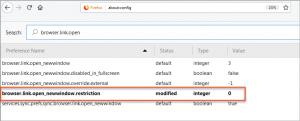D365CE - adjusting pop-up behavior in FireFox