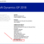 Configuring the OData Service for Dynamics GP