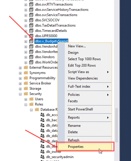 SQL Explorer Properties