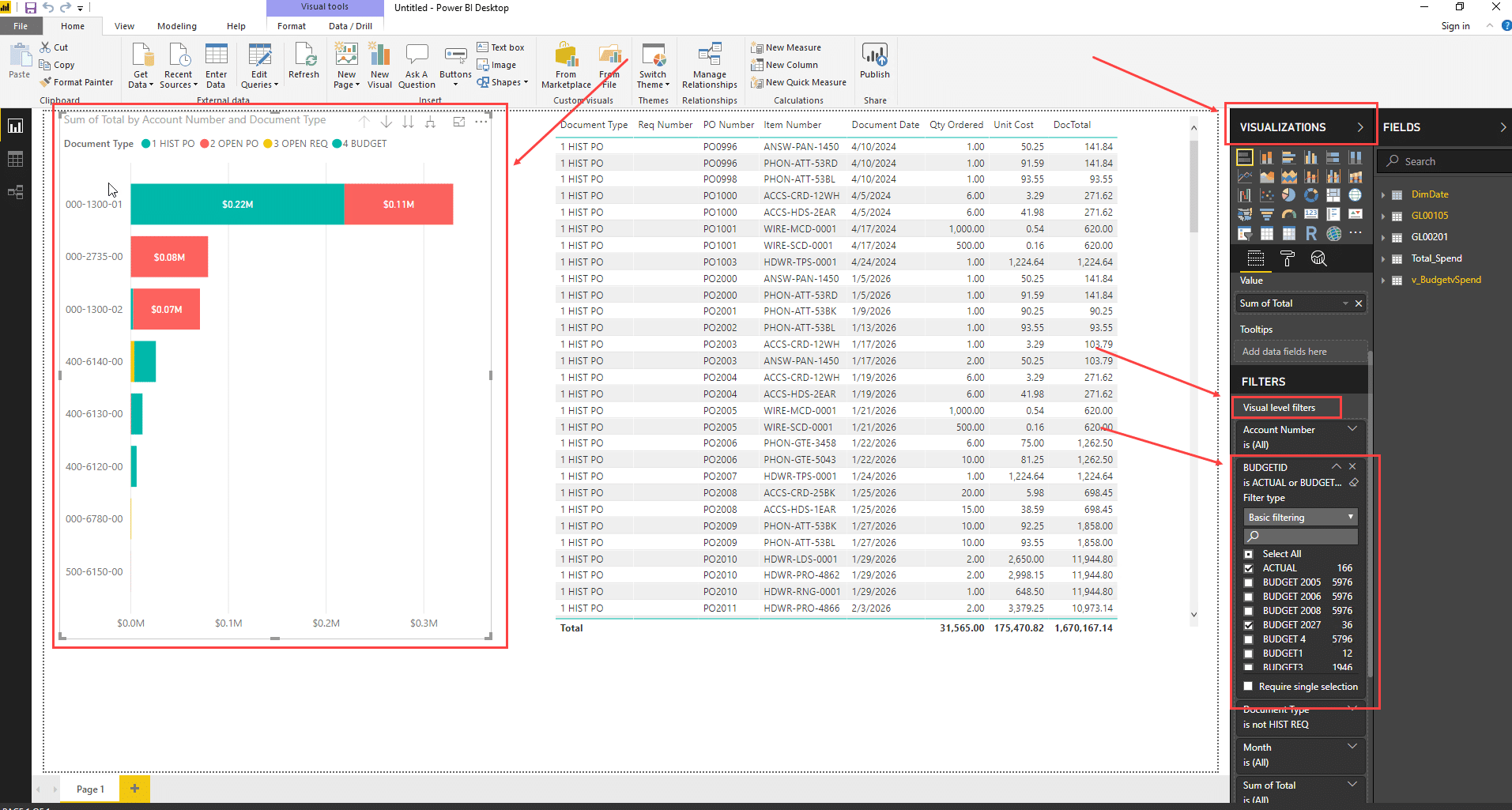 Connect Dynamics GP to Power BI