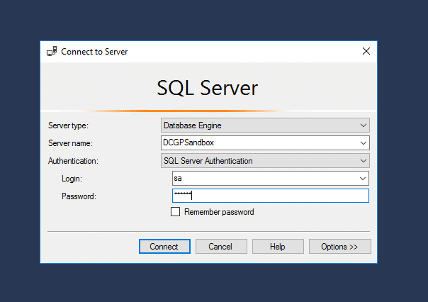 SQL Server Connection