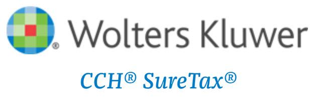 Wolters Kluwer CCH SureTax