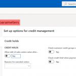 Credit limit expiration date